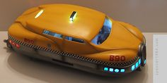 Korben Dallas' Taxi from The Fifth Element