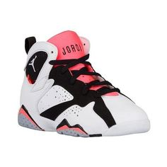 Jordan Retro 7 Girls' Preschool ($80) ❤ liked on Polyvore featuring jordans