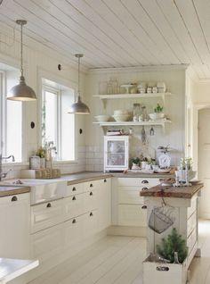 90 Rustic Kitchen Cabinets Farmhouse Style Ideas (75)