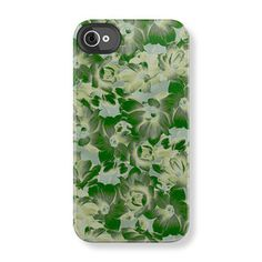 Magnolia iPhone 4/4S Case Sage now featured on Fab.
