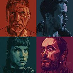 29 vind-ik-leuks, 2 reacties - @replicant_noir op Instagram: 'Repost @samgilbey #harrisonford #bladerunner #bladerunner2049 #denisvilleneuve #drawing #sketching…'