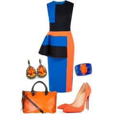 A fashion look from December 2014 featuring Roksanda Ilincic dresses and Niclaire tote bags. Browse and shop related looks.