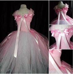 Pink Princess dress with sparkles