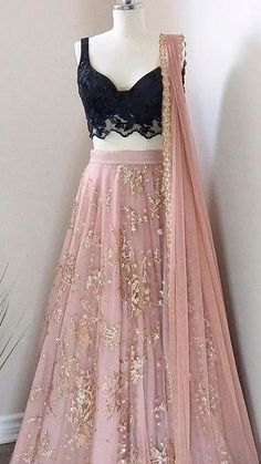 Lehnga Dress 429530883214061451 - Lilly is Love Indian Fashion Dresses, Indian Bridal Outfits, Indian Gowns Dresses, Dress Indian Style, Indian Designer Outfits, Pakistani Dresses, Designer Dresses, Indian Wedding Dresses, Punjabi Salwar Suits
