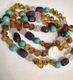 Momma Zen Baltic Amber necklace