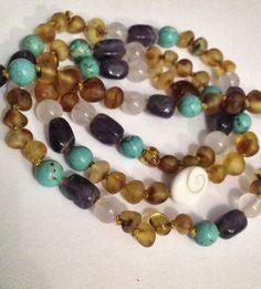 Momma Zen Baltic Amber necklace