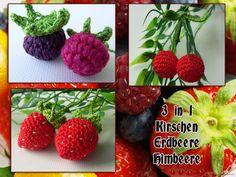 Das E-book besteht aus bebilderte Anleitung zum Häkeln von Himbeere/Brombeere, Erdbeere, Kirschen. Damit können Sie Beeren häkeln zum dekorieren des H