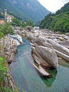Val Verzasca just north of Lago Maggiore in northern Italy