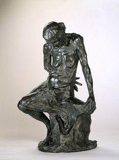 my favorite Rodin sculpture - She Who Was The Helmet Maker's Once-Beautiful Wife
