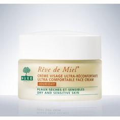 Crème nourrissante - Crème Visage Ultra-Réconfortante Jour-Rêve de Miel® - NUXE, cosmétique d´origine naturelle
