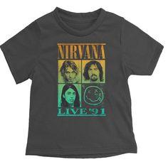 Nirvana Live '91 Rock Band T-Shirt