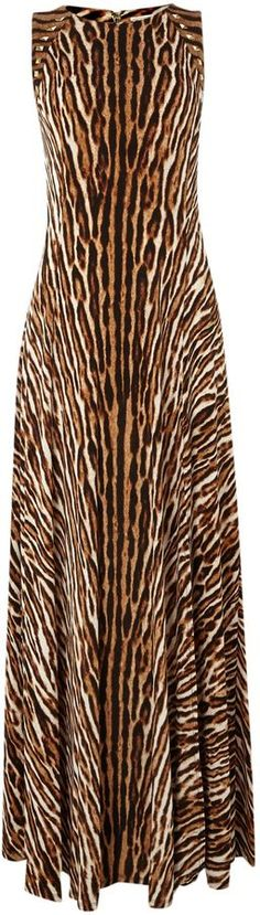 Michael Kors Leopard print maxi dress on shopstyle.com