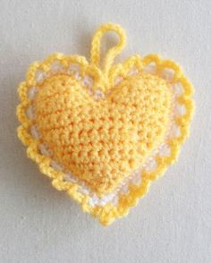 Heart Sachet from Best Free Crochet Patterns
