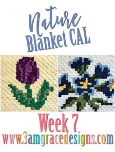 Nature Blanket C2C CAL