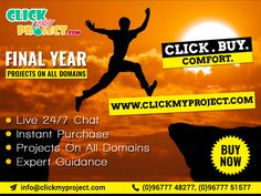 #Clickmyproject #FinalYearProjects #ProjectGuidance #LiveChat #IEEEFinalYearProject #FinalSemesterProjects Make Your Own Project With Our Support @ Clickmyproject