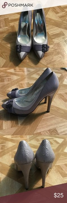Shoe Dazzle Purple Pumps Worn a few times, been sitting in my closet so they need a new home. Shoe Dazzle Shoes Heels