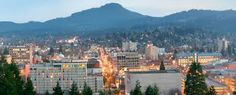 eugene oregon skyline - Google Search