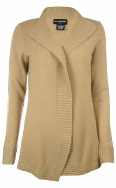 Sutton Studio Womens Cashmere Open Cardigan Sweater Plus Sutton Studio. $159.95
