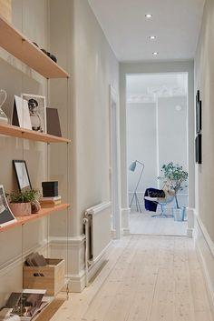 Un piso nórdico lleno de detalles