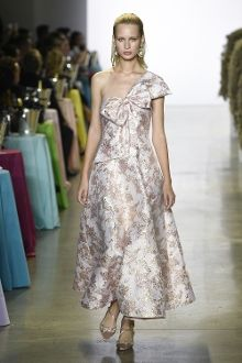 40c97ea447 Badgley Mischka Sleeveless Brocade Dress SC2288 Couture Collection