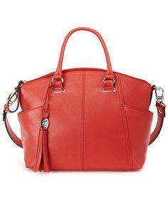 Tignanello Handbag, Sophisticate Leather Convertible Satchel - Handbags & Accessories - Macy's