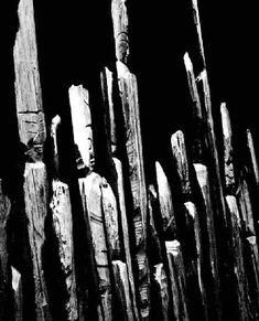 Splinter buddhas by Enku