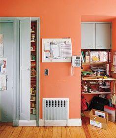 Before: kitchen storage area makeover