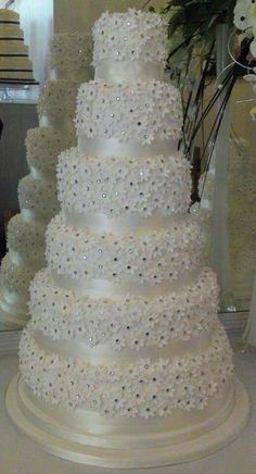 6 tier cake