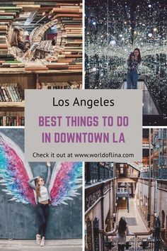 , Best Things To Do in Downtown LA - World of Lina , There's a lot to do in downtown Los Angeles. To make sure you don't miss any cool activities have a look at the beat things to do in downtown LA! Downtown Los Angeles, Museums In Los Angeles, Los Angeles Day Trips, Weekend In Los Angeles, Los Angeles Vacation, Los Angeles Food, Places To Travel, Places To See, Travel Destinations