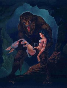 Other werewolves are decidedly more willful and malevolent, such as those in the novel The Howling and its subsequent sequels and film adaptations. The form a werewolf assumes was generally anthropomorphic in early films such as The Wolf Man and Werewolf of London, but larger and powerful wolf in many later films.
