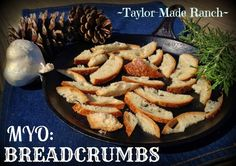 Making your own breadcrumbs is not only an inexpensive alternative to store bought, but super quick & easy too.   See how.  #TaylorMadeRanch