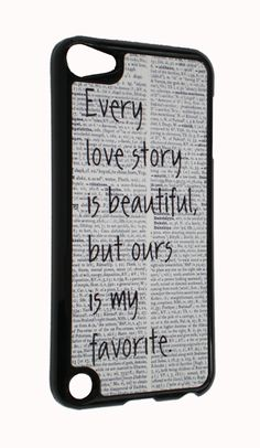 iPod Touch 5th generation Love Story Print Design Cover Case for iTouch 5