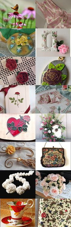Tempt Team Flower Collection by Carol on Etsy--Pinned+with+TreasuryPin.com