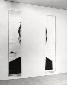 Michelangelo Pistoletto   Le orecchie di Jasper Johns (The Ears of Jasper Johns), 1966