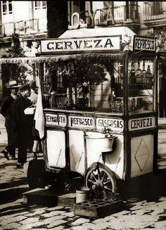 Quiosco de bebidas. Madrid -1930