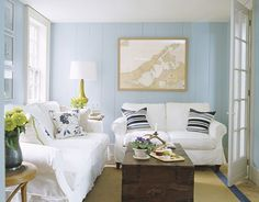 South Shore Decorating Blog: The Top 100 Benjamin Moore Paint Colors: iceberg - kitchen floor bg color