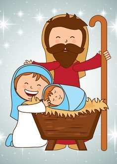 El nacimiento del Bebé Jesús Christmas Nativity Set, A Christmas Story, Christmas Design, Christmas Art, Christmas Decorations, Clipart Noel, Happy Merry Christmas, Christmas Drawing, Sunday School Crafts