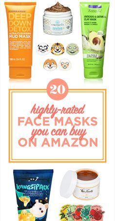 20 Highly Rated Face Masks You Can Buy On Amazon
