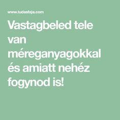 Vastagbeled tele van méreganyagokkal és amiatt nehéz fogynod is! Health Motivation, Health Fitness, Hair Beauty, Medical, Van, Healthy, Projects, Mint, Health