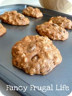 Fancy Frugal Life: Carrot Cake Cookies (Healthy Back to School Snack)
