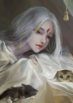 Anime Art Girl, Manga Girl, Female Character Inspiration, Character Art, Fantasy Art Women, Painting Of Girl, Fantasy Paintings, China Art, Anime Scenery