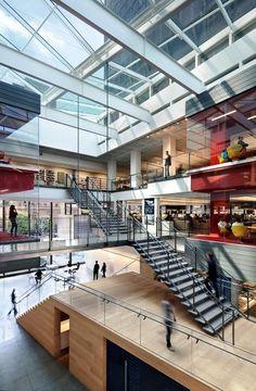 fitnation exhibition atrium architecture - Google Search