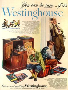 Westinghouse Radio-Phonograph ABC Network