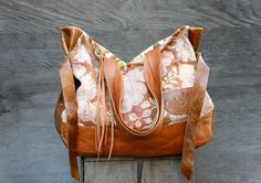 NEW///JOSEPHINE Tote in Vintage Floral Carpet and by arebycdesign, $274.00-Love everything about it!!