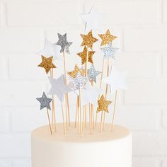DIY Star Cake Toppers - craftgawker
