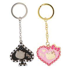 Hello Kitty & Dear Daniel pair Keychain Sanrio online shop - official mail order site