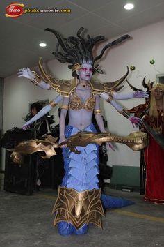 Go to http://wanelo.com/p/5327946/warcraft-blueprint for WOW secrets - Naga from World of Warcraft