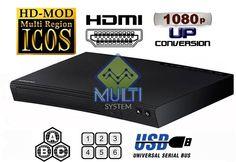 Samsung BD-J5100 CODEFREE Multi Zone All Region Free Blu-Ray DVD Disc Player  #Samsung