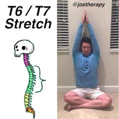 "4,251 Likes, 88 Comments - Joe Yoon, LMT (@joetherapy) on Instagram: ""T6 - T7 Spinal Decompression Stretch [ELDOA] - Let's keep it going with more t-spine work! -…"""