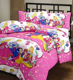 Princess cartoon bedsheet